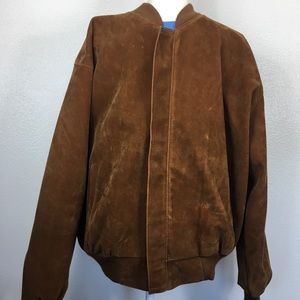 VALENTINO Suede Bomber Jacket made in Italy 🇮🇹